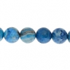 Blue Crazy Lace Agate 8mm Round 21pcs Approx